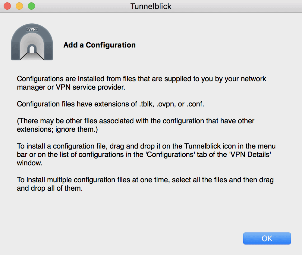 Tunnelblick Configuration Files
