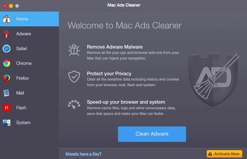 Mac Ads Cleaner