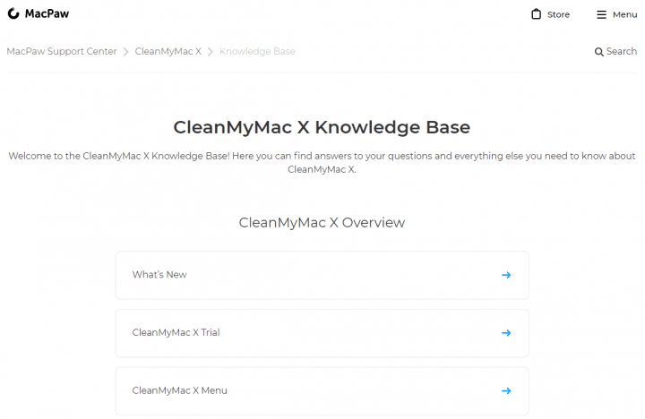 Knowledge Base for CleanMyMac X Users