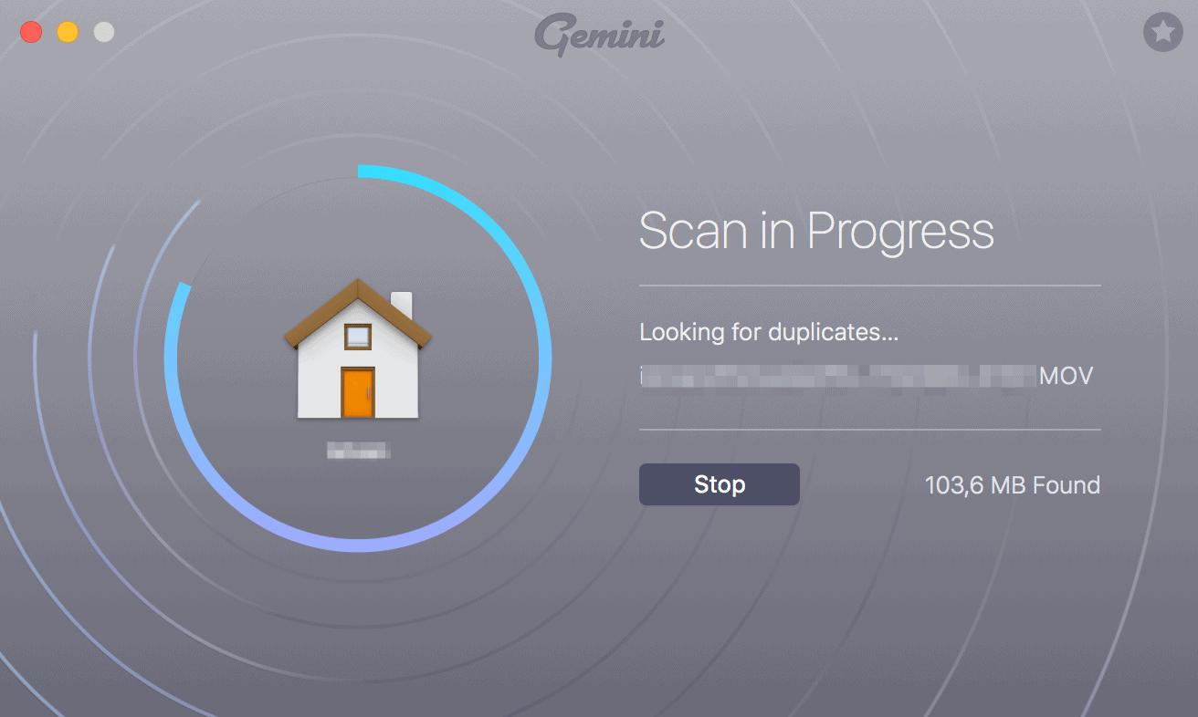 Home Folder Scan