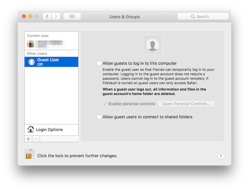 How to Remove the Guest User Account on Mac - Mac Optimization