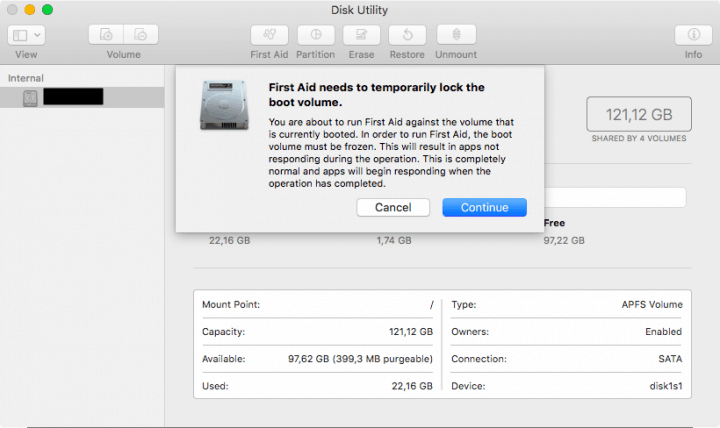 Disk Maintenance With Disk Utility