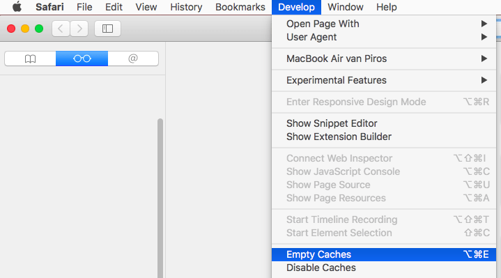 How do i clear the cache files on my mac mac optimization deleting cache in safari ccuart Image collections