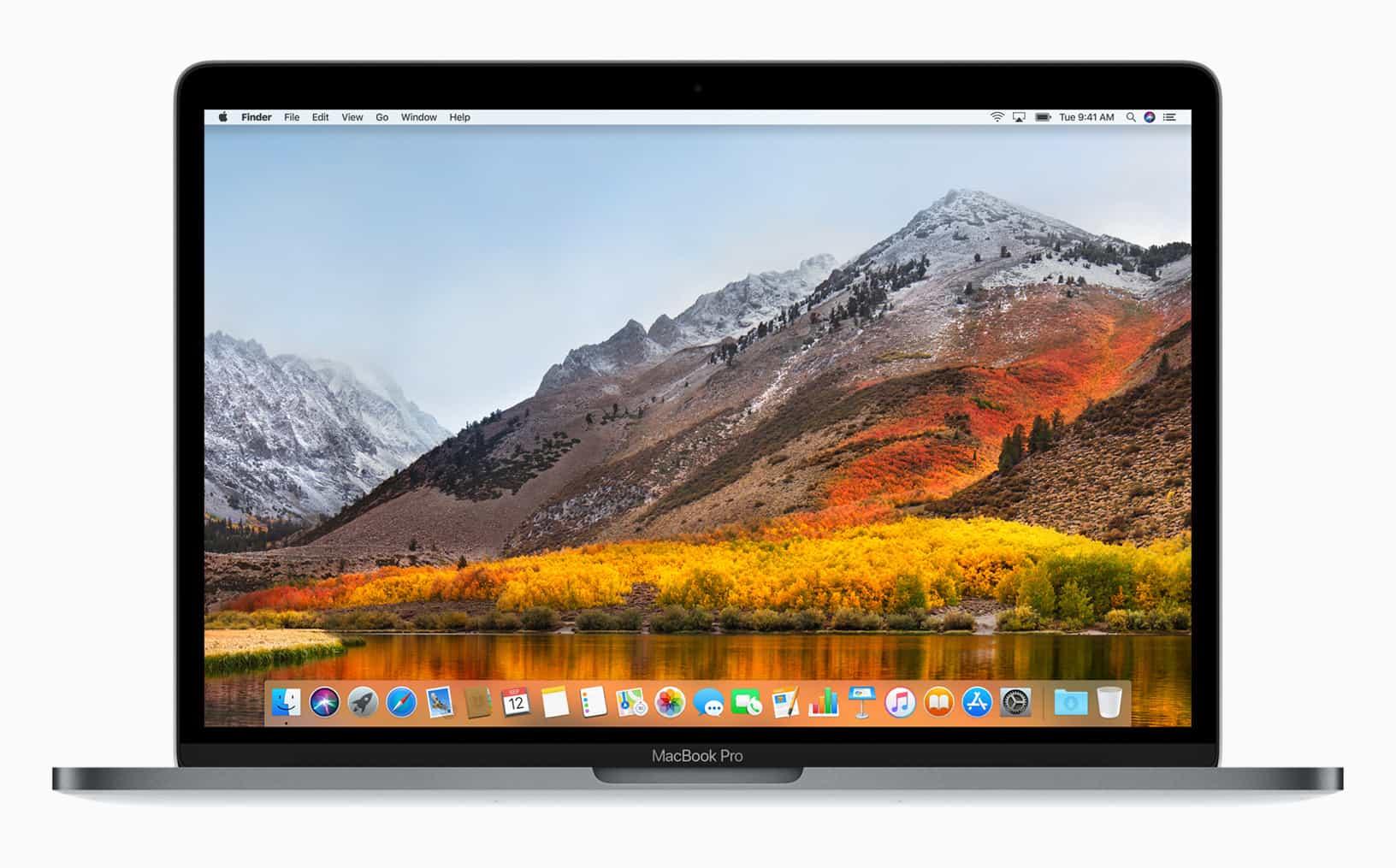 MacBook Pro lid open