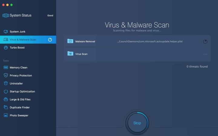 MacBooster Virus & Malware Scan