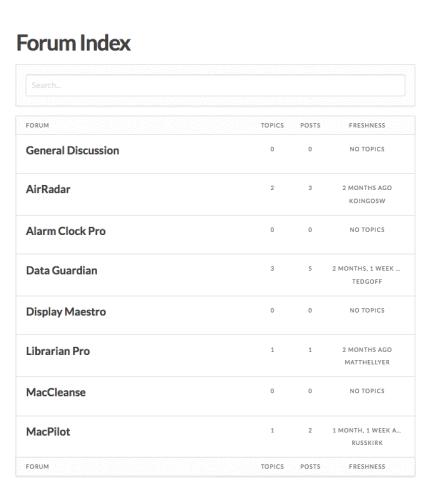 MacCleanse Forum
