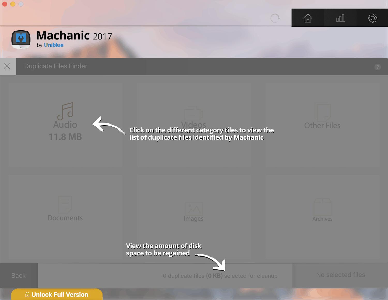 Machanic Duplicate Finder