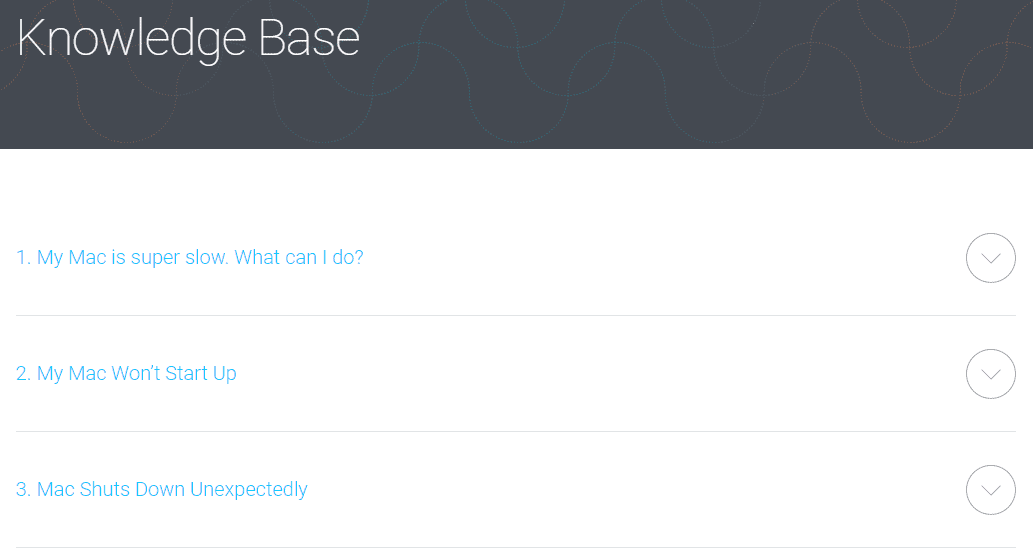 MacKeeper's Knowledge Base