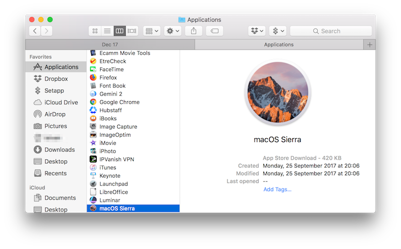Installing High Sierra on an Unsupported Mac - Mac Optimization