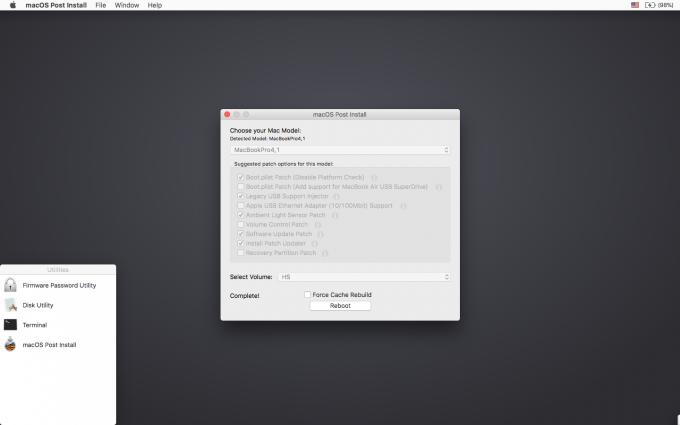 macOS Post Install