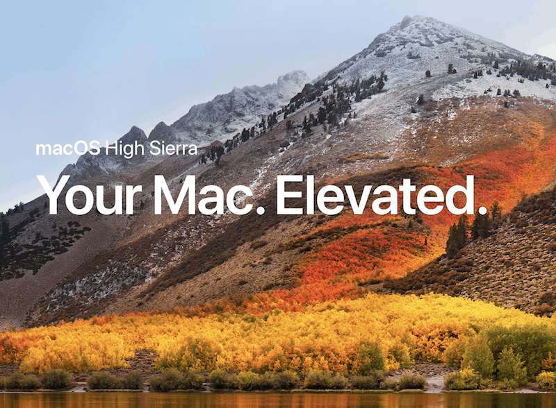 Installing High Sierra on an Unsupported Mac - Mac