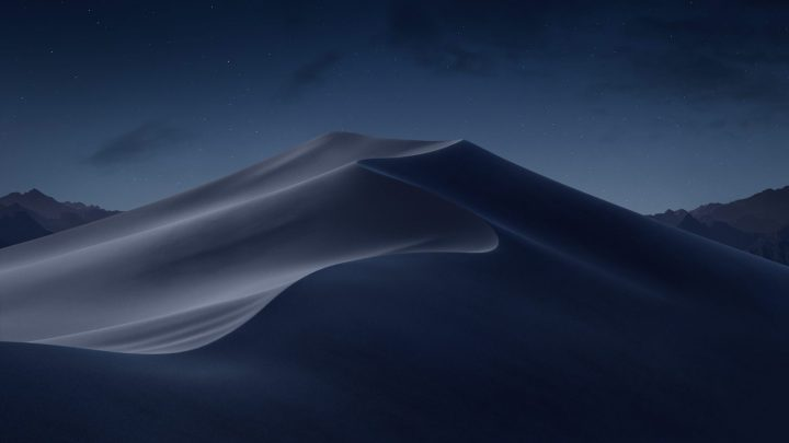 macOS Mojave night