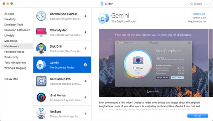 Setapp's Desktop Client