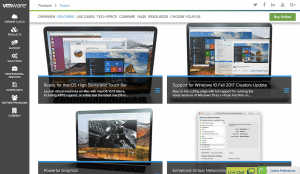 Visit VMware Fusion
